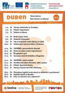 program duben 2014