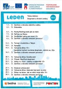 program leden 2014