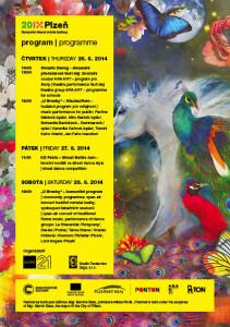 program festivalu Khamoro v Plzni