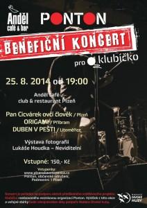 plakát benefiční koncert
