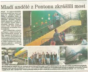 AF v novinách