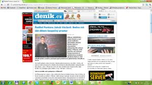Ředitel Pontonu Jakub Václavů Bedna má dát bezpečný prostor dětem (1.část) - 5.4.2012