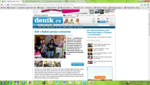 Děti v Bedně zpívaly a boxovaly - (1.část) - 16.5.2012